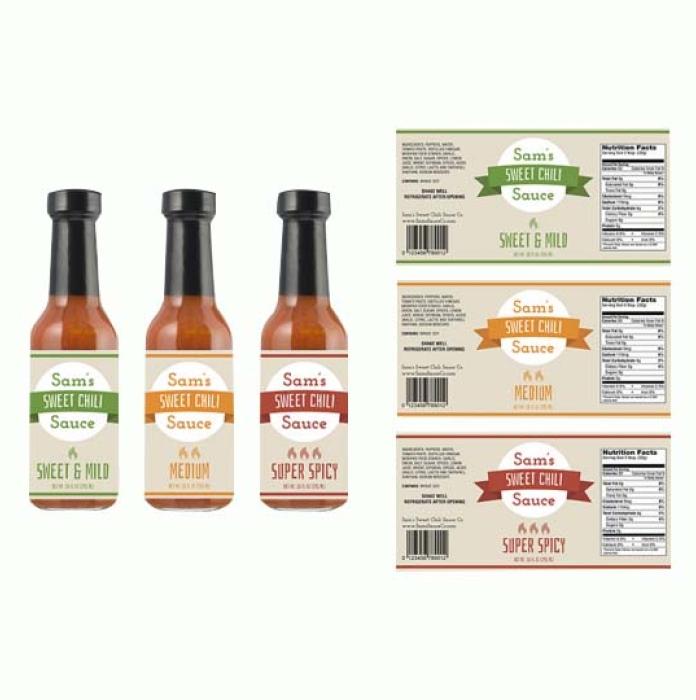Sauce labels